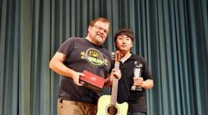 Ayers joined International Finger-Style Guitar Festival 2010