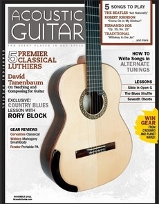 Ayers D02 review on Acoustic Guitar Magazine