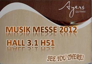 Ayers in Frankfurt Messe 2012 – Mar 21 – Mar 24