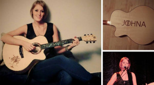 Ayers Guitar Endorser-Johna
